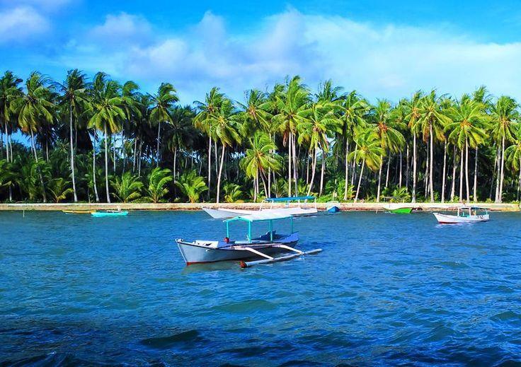 Hamparan pasir pantai bertekstur sangat lembut dengan warna putih berkilau yang terkena matahari, bak butiran permata adalah gambaran nyata dari Pulau Kangean, Sumenep. Air lautnya yang sangat jernih dengan pemandangan koral beragam, mulai dari koral lembut maupun keras, bahkan yang berbentuk sponge pun semua ada di perairan Pulau Kangean di Sumenep ini. [Photo by https://instagram.com/kangeannet]