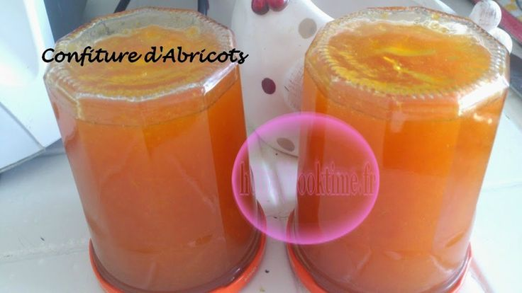 Confiture d'abricots ( Thermomix )
