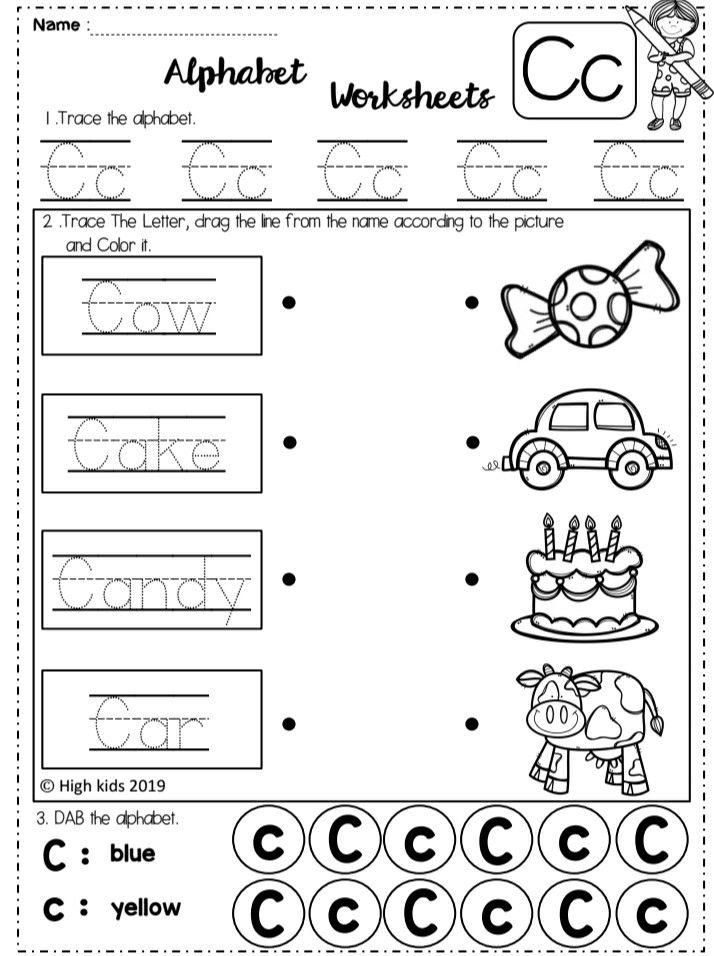 Alphabet Worksheets Set 2 Elementary Lesson Phonics Worksheets Free First Grade Activities Preschool alphabet worksheets for 2