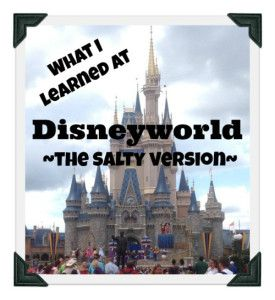 A snarky take on our family vacay in the Happiest Place on Earth.