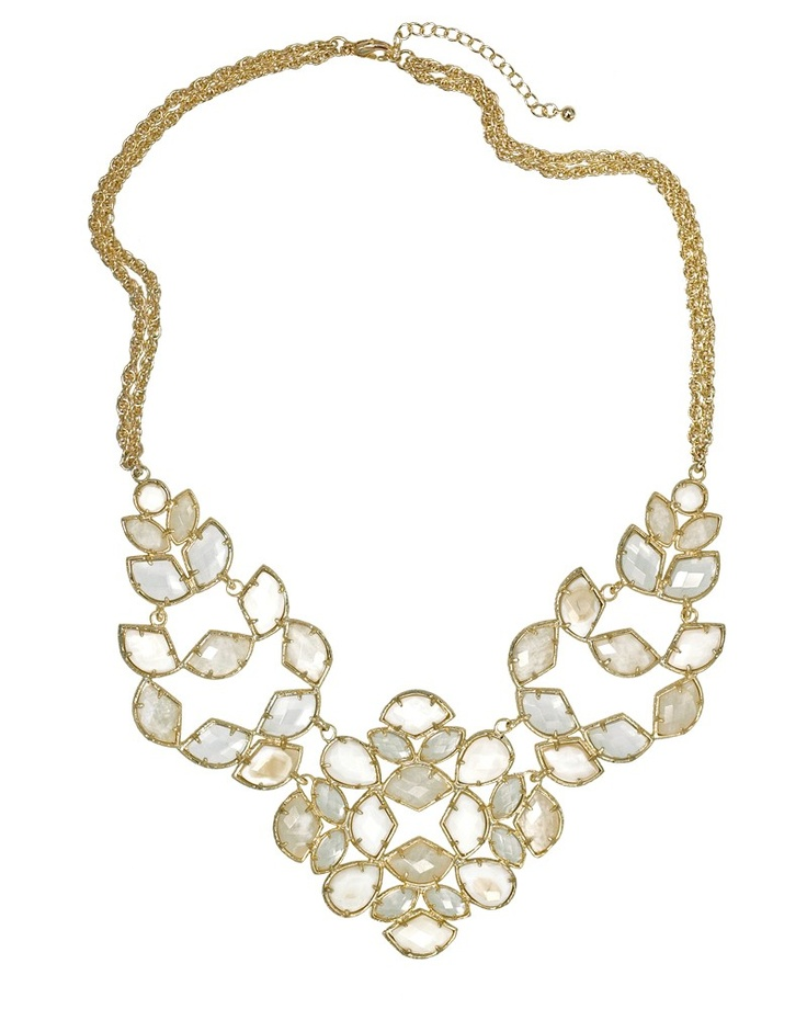 Grayce Statement Necklace in Lily - Kendra Scott Jewelry: Bling, Kendrascott, Bridal Necklaces, Bridal Statement Necklaces, Jewelry Accessories, Design Jewelry, Jewelry Shops, Fashion Designers, Designer Jewelry