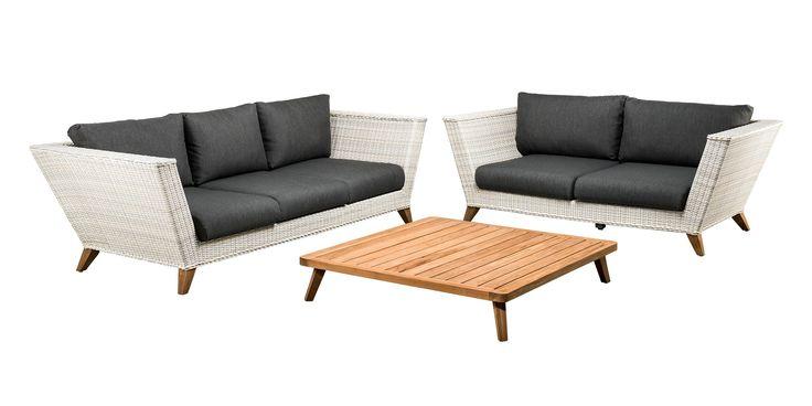 SUNS Porcia - Sofa set - SUNS Green Collection - 3 parts