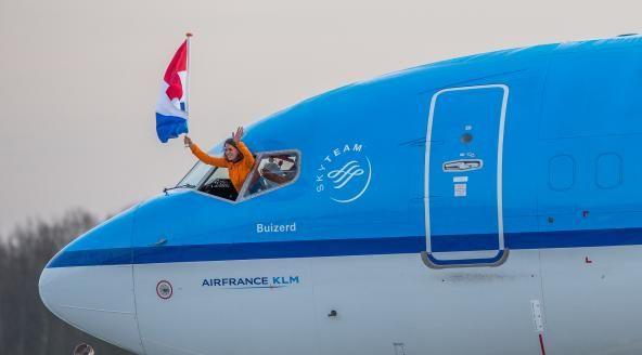 Olympiërs weer terug in Nederland