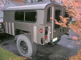 Image result for military trailer camping