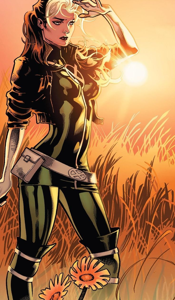 X Men Girl Characters x-men rogue - G...