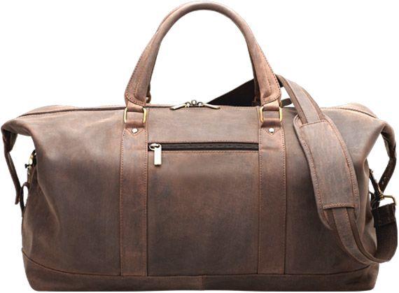 Weekend Bag Dark Brown