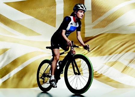 Sleek biking attire by Stella McCartney!