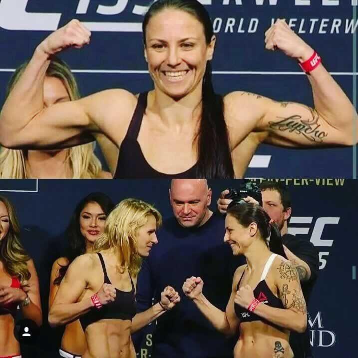 Nina Ansaroff vs. Justine Kish Weigh Ins at UFC 195
