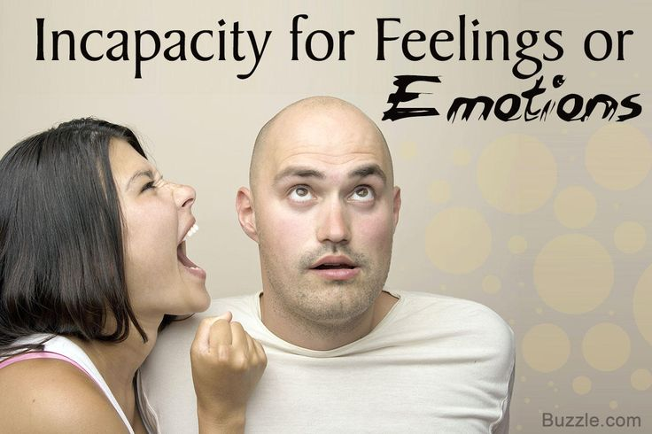 Sociopath Characteristics- Incapacity for Feelings or Emotions
