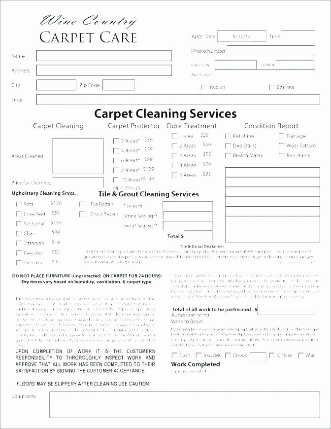 Carpet Cleaning Contract Template New Carpet Cleaning Template Carpet Cleaning Receipt Carpet Carpet Estimate Cleaning Contracts Contract Template