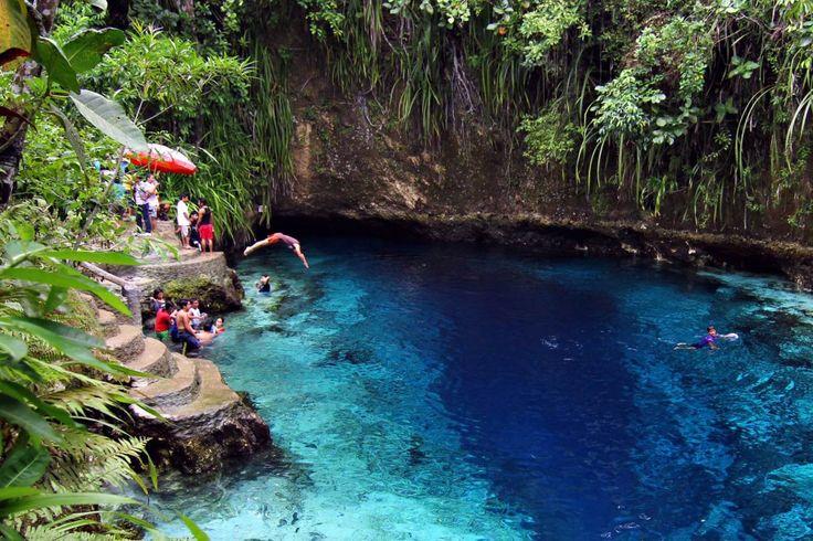 The Enchanted River, Filipinas
