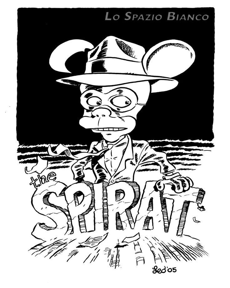 The Spi...rat, omaggio di Leo Ortolani.