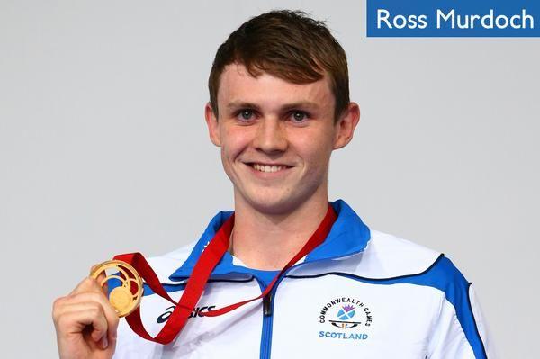 Ross Murdoch -  Gold in the 200m breast-stroke - Team Scotland