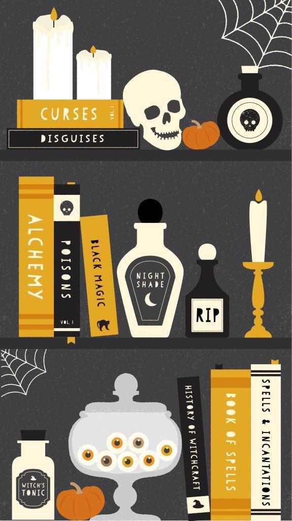 Free Halloween iPhone Wallpapers