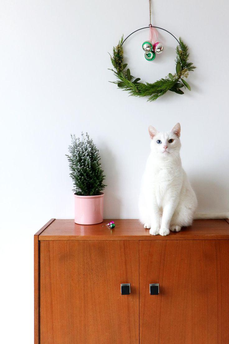 MY ATTIC für vtwonen / Weihnachten mit Recyclingfunden Fotografie: Marij Hessel