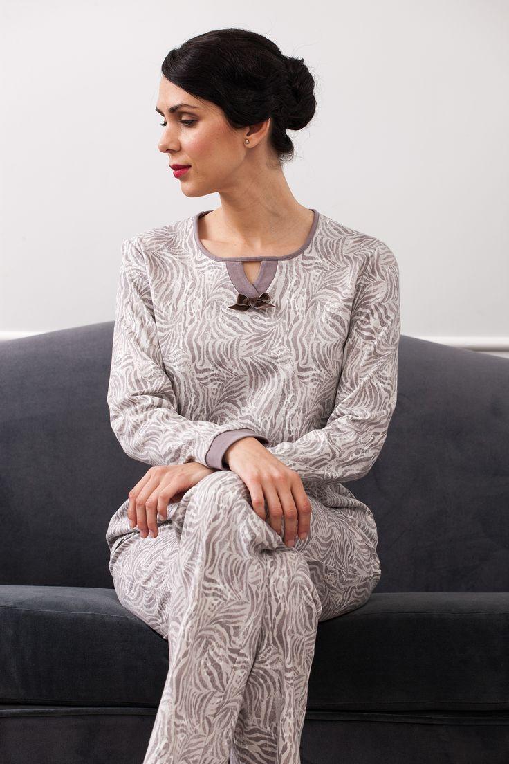#animalprint #neutralcolors pijama.  #fallwinter2017 sleepwear Collection.