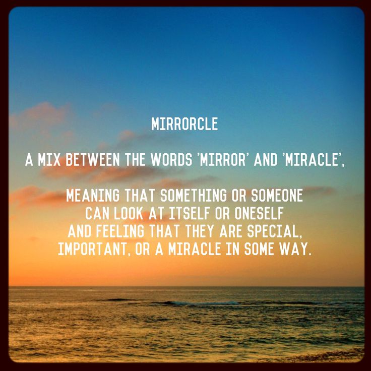 It's the last #saturday in #february After my new single came out yesterday, people have asked what #mirrorcle means? Here is the #urbandictionary meaning 🙂 Everyone is #special Never let anyone make you feel less than or not important! #love #heart #hugs #meaning #support #relationships #friends #family #life #feelings #emotions #equality #youth #kids #children #livelife #dreams #goals #lessons #lgbt #lgbtq #gay #usa #freedom #quote