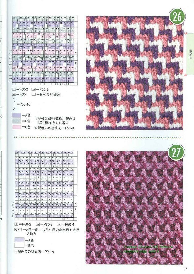 Tunisian_Crochet_100_Patterns_015-767018.jpg (1136×1600)