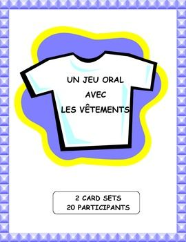 Teach, practice, and review French clothing vocabulary with this popular speaking and listening game.