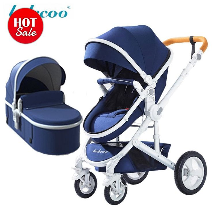 belecoo baby stroller High landscape 2 in 1 baby car two