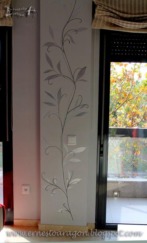 Las 25 mejores ideas sobre papel tapiz de comedor en - Columnas decoracion interiores ...