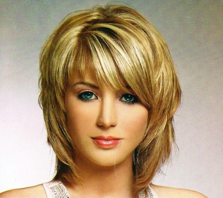 Medium shag hairstyles for girls
