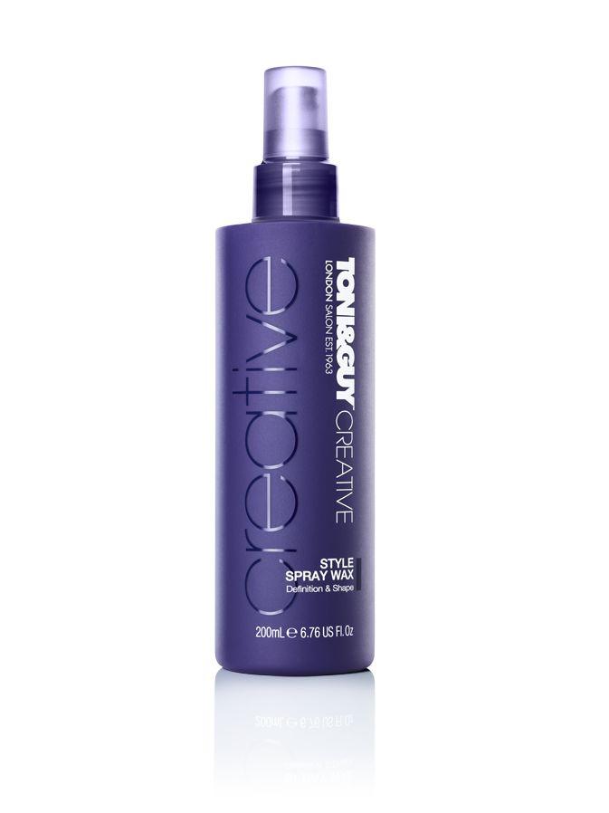 TONI&GUY Hair Care Creative Style Spray Wax RRP $15.99