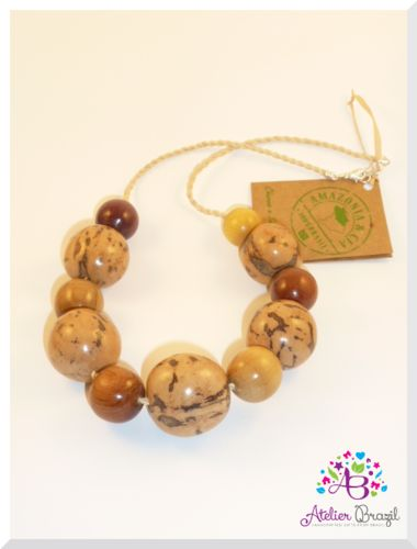 Buriti Necklace    Eco-friendly Jewellery from Amazon.    Love <3 the Planet