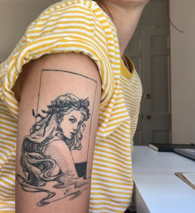 Image About Beauty In Tattoos By Ely Zaldivar Aphrodite Tattoo Tattoos Inspirational Tattoos