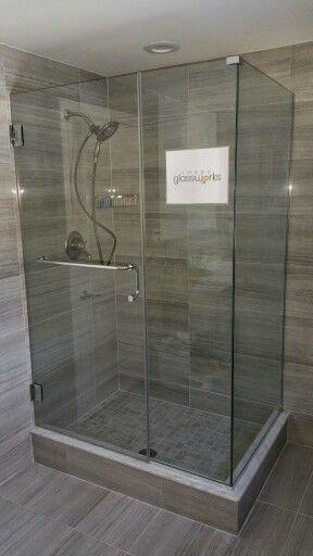 124 best Frameless Shower Doors - Swinging / Hinged images on ...