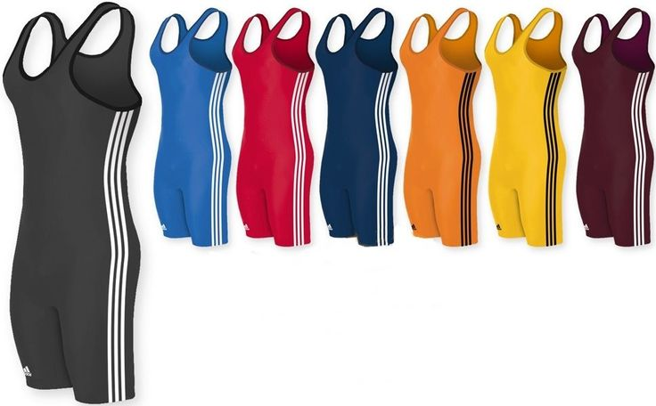 Clothing 79796: Adidas 3-Stripe Youth Or Adult Wrestling Singlet, As102s, 7 Colors Available! -> BUY IT NOW ONLY: $39.95 on eBay!