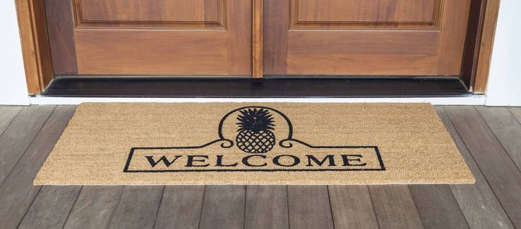 best 25 front door mats ideas on pinterest farmhouse doormats front door entry and outdoor. Black Bedroom Furniture Sets. Home Design Ideas