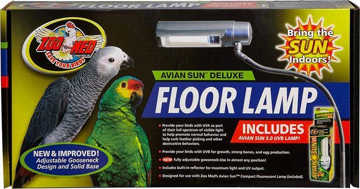 Full Spectrum Avian Flux Light Parrot Like Sun Zoo Med