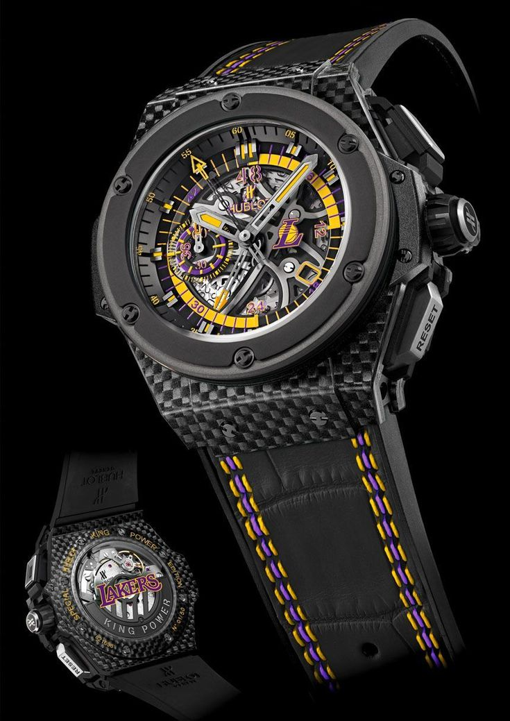The Hublot King Power Los Angeles Lakers Limited Edition Watch $27,900