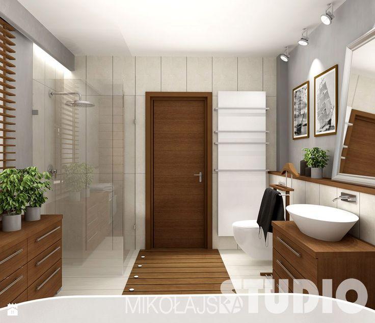 Łazienka w stylu kolonialnym - zdjęcie od MIKOŁAJSKAstudio - Łazienka - Styl Kolonialny - MIKOŁAJSKAstudio
