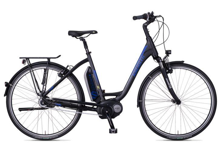 Vitality Eco 6 (500Wh / Rücktritt) - Ein hochklassig ausgestattetes E-Bike, beim dem wir viel Wert auf beste Fahreigenschaften sowie das Thema Sicherheit gelegt haben. #ebike #kreidler