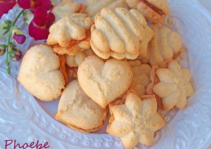 Υπέροχα μπισκότα με μαρμελάδα