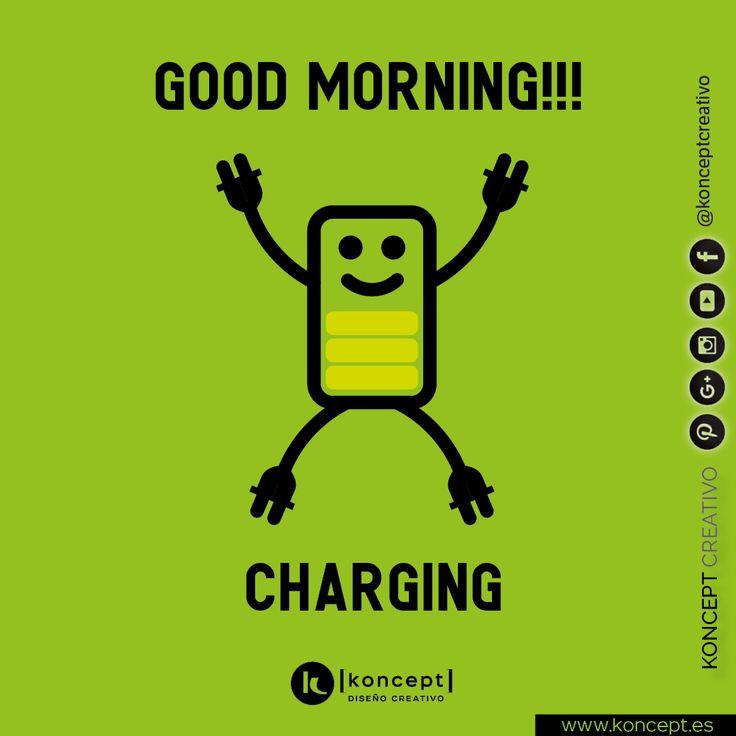 Muy buenos días y buen miércoles, como veis todavía tenemos cuerda para rato. Arriba esa energía y que nada os pare!!!. . #miercoles #charging #goodmorning #buenosdias #happyday #wednesday #power #energy #metas #objetivos #empresas #barcelona #creatividad #igersbarcelona #diseñoweb #diseñografico #letsgo #loading #diseñograficobarcelona #locazosdeldiseño #graphicdesigner #graphicdesign #followme #green #sigueme #dontstop #work #trabajo #workhardplayhard #proyectos