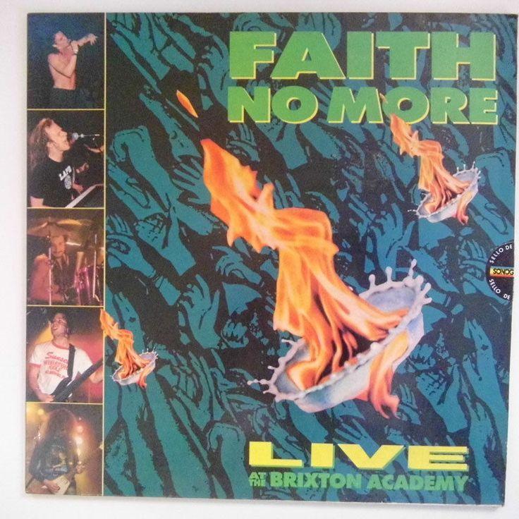 Faith No More Live At The Brixton Academy 1991 Rock EX Lp Record Vinyl  #RockAlternativeIndie