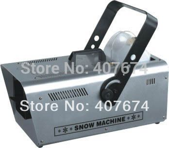 HOT SALE High Quality 1200W DMX Snow Machine For Event Party,Disco,Studio,Wedding,Stage Special Effects