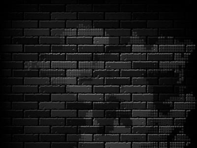 Free vector graphics black brick wall with some halftone dots on top of it. Some spots of it are lighter the others are darker. License: Creative Commons Attribution Format: .EPS