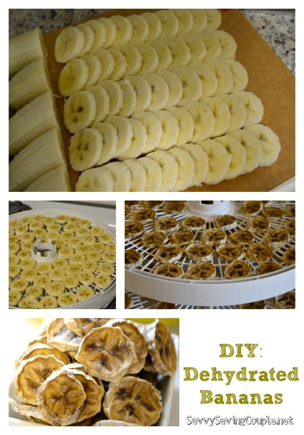 Food Dehydrator Recipes Banana Chips