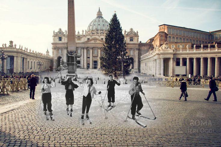 Queste foto di Roma sono fantastiche perchè recuperano la memoria storica della città e ricordano momenti, divertenti o drammatici, che tutti noi dovremmo conoscere.