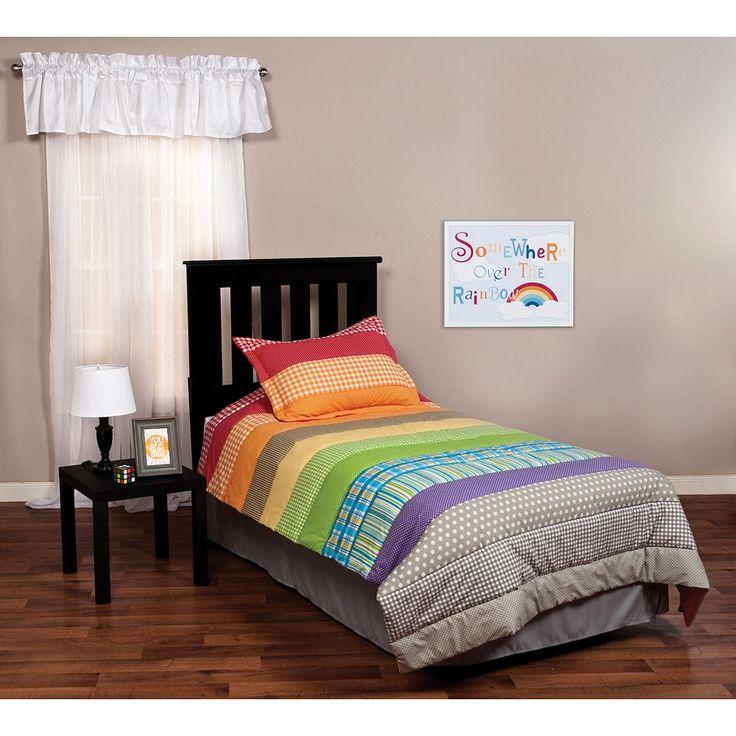 Trend Lab Rainbow Connection 2-pc. Twin Bedding Set, Multicolor