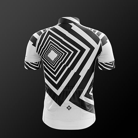 Short sleeve jersey that is anatomically cut and also sporty. It's made of a fabric of micro capillary channels which allow rapid evaporation. Buy now!