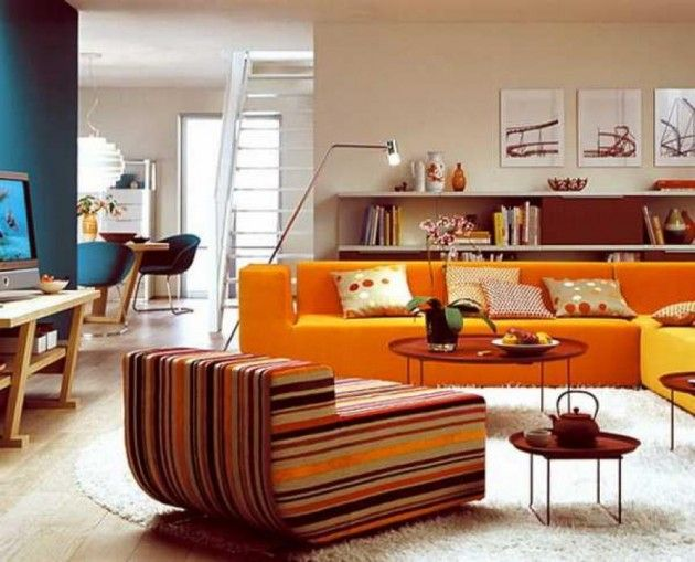 Interior Decorating Color Ideas: 25+ Best Ideas About Orange Interior On Pinterest
