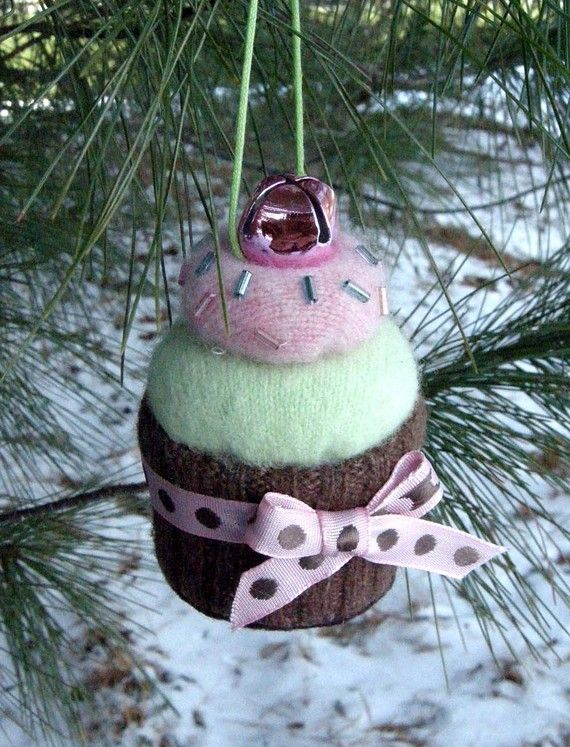 cupcake...: Sweet Shoppe, Xmas Trees, Crafts Ideas, Christmas Crafts, Cupcakes Ornaments, Shoppe Ornaments, Jingle Belle, Ornaments Sets, Patterns Sewing