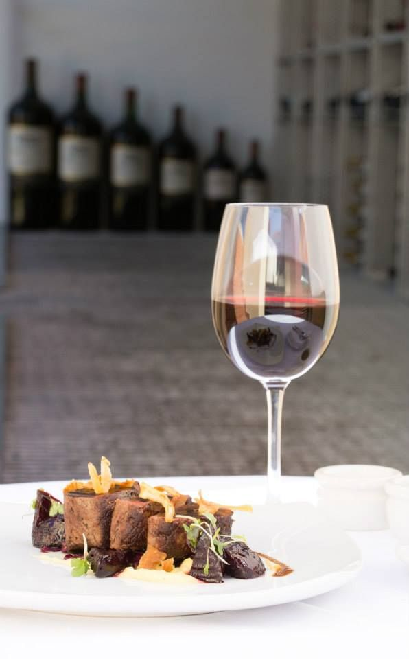 Enjoy with a glass or Warwick First Lady Cabernet Sauvignon! http://tenbompas-restaurant.co.za/