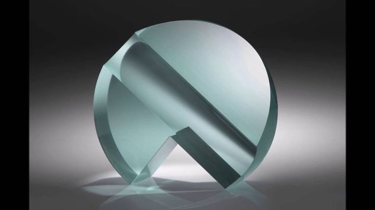 Glass Sculpture LARGE CIRCLE SECTOR Jiri Karel