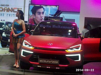 Cuva Model Sport Terbaru dar PT. Daihatsu Motor dengan ciri khas Cat Dop